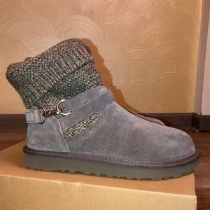Ugg boots Suede and knit, great condition!